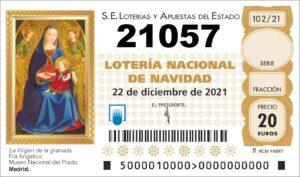comprar numero 21057 loteria de navidad 2021
