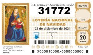 comprar numero 31772 loteria de navidad 2021