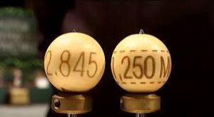 Terminología bolas del sorteo